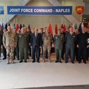 Ιταλία: Στο στρατηγείο του ΝΑΤΟ οΒίτσας