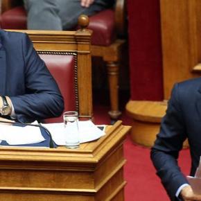Δημοσκόπηση στην «Αυγή»: Η ΝΔ καταλληλότερη κυβέρνηση από τον ΣΥΡΙΖΑ Μεγάλο προβάδισμα της Νέας Δημοκρατίας έναντι του ΣΥΡΙΖΑ δείχνει το μηνιαίο Πολιτικό Βαρόμετρο της Public Issue, που δημοσιεύει η Αυγή τηςΚυριακής.