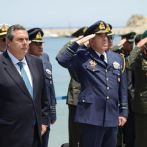 Ισχυρό μήνυμα Καμμένου: Η Κύπρος είναι υπό κατοχή-Στόχος μας η απελευθέρωση της από τουςΤούρκους