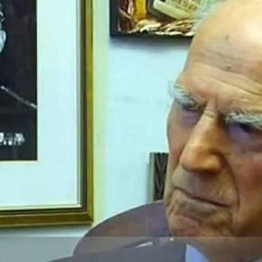 «Έφυγε» σε ηλικία 104 ετών ο Στυλιανός Παττακός όταν ληστές του έκλεψαν το μετάλλιο ανδρείας(βίντεο)-(upd)