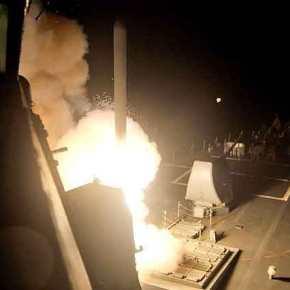 O πλανήτης «κρατάει την ανάσα του»: To «Σχέδιο B» θα εφαρμόσουν οι Αμερικανοί με «καταιγίδα» πυραύλων Tomahawk κατά συριακών αεροπορικώνβάσεων