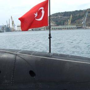 Τουρκικά υποβρύχια σε ολόκληρο τοΑιγαίο