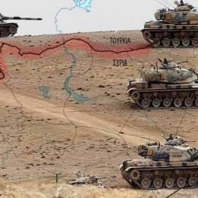 Κλιμάκωση: Είκοσι τουρκικά άρματα μάχης εισήλθαν στην βόρεια Συρία ενώ η Δαμασκός κηρύσσει πόλεμο στηνΆγκυρα!