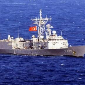 Ναυτικό επεισόδιο νότια του Καστελόριζου με τουρκική πολεμικό πλοίο να αναμετράται με ελληνική φρεγάτα Η ΑΓΚΥΡΑ ΕΠΙΧΕΙΡΗΣΕ ΝΑ ΕΚΔΙΩΞΕΙ ΣΚΑΦΟΣ ΝΑΥΛΩΜΕΝΟ ΑΠΟ ΤΗΝ ΕΛΛΑΔΑ ΓΙΑ ΕΡΕΥΝΕΣ ΣΤΗΝΥΦΑΛΟΚΡΗΠΙΔΑ