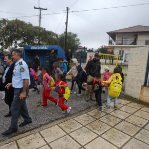 ΝΕΟ ΩΡΑΙΟΚΑΣΤΡΟ ΣΤΟ ΔΗΜΟ ΒΟΛΒΗΣ Τα προσφυγόπουλα γύρισαν την πλάτη στο «σχολείο Φίλη»–
