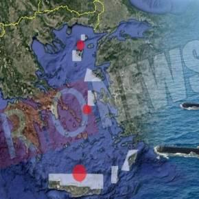 Ο χάρτης της αναμέτρησης του ΠΝ με τις «αγέλες» των τουρκικών υποβρυχίων στο Αιγαίο-ΑΠΟ ΤΥΧΗ ΔΕΝ ΕΙΧΑΜΕΤΡΑΓΩΔΙΑ