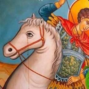 ΦΟΒΟΥΝΤΑΙ ΜΑΥΡΑ ΜΑΝΤΑΤΑ! Δάκρυσε η εικόνα του Αγίου Γεωργίου – Τιυποδηλώνει