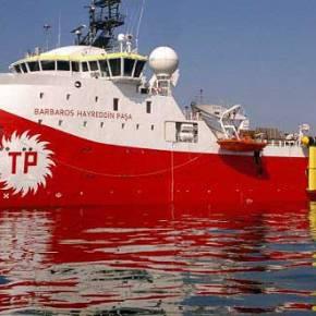 """Οι Τούρκοι βγάζουν το Barbaros για """"έρευνες"""" στηνΚύπρο!"""