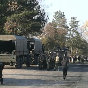 Ο βουλγαρικός στρατός μπήκε στο κέντρο κράτησηςμεταναστών!