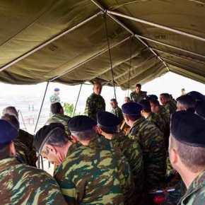 ΕΚΤΑΚΤΟ! Στον Έβρο ξαφνικά ο Αρχηγός του Γενικού ΕπιτελείουΣτρατού