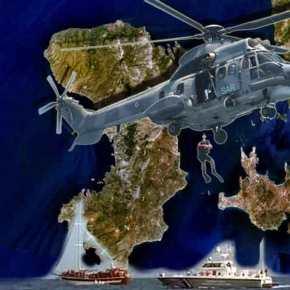 Τούρκος ναυαγός αρνήθηκε να παραληφθεί από Super Puma της ΠΑ ΝΔ της ν.Χίου!
