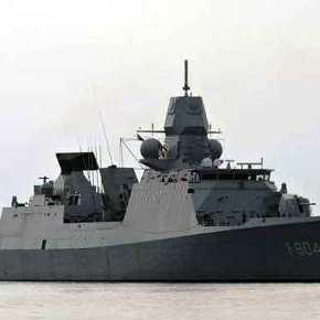 Η ναυαρχίδα του NATO στο Αιγαίο στονΠειραιά-ΒΙΝΤΕΟ