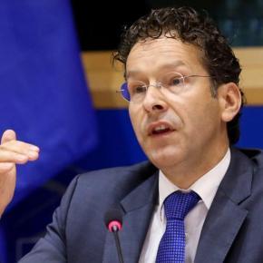 Ντάισελμπλουμ: Πιθανή η μείωση του στόχου για το πρωτογενές πλεόνασμα «Η ελληνική κυβέρνηση εργάζεται πιο εποικοδομητικα από ότι οιπροηγούμενες»