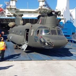 Έφτασαν σήμερα τα πρώτα τρία CH-47D Chinook από τις ΗΠΑ για την ΑεροπορίαΣτρατού!