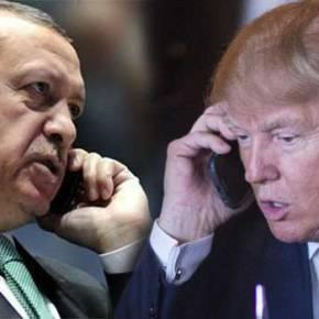 Ο Τράμπ μίλησε τηλεφωνικά μεΕρντογάν