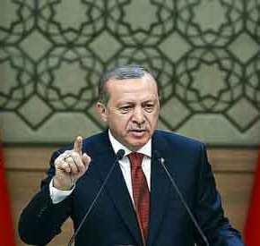 «ΚΗΡΥΞΕ» ΤΟΝ ΠΟΛΕΜΟ (στην Ευρώπη) Ο ΕΡΝΤΟΓΑΝ! «Η Ευρώπη διάλεξε τηνέχθρα»
