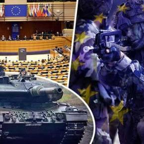 ΕΚΤΑΚΤΟ: «Γεννήθηκε» επίσημα ο ευρωπαϊκός στρατός με προϋπολογισμό 470 εκατ. ευρώ το έτος για να «υπερασπιστεί» την Ευρώπη του Σόιμπλε! (φωτό &βίντεο)