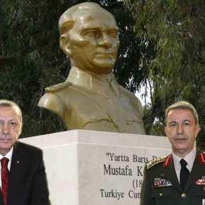 Ο Ερντογάν ματαίωσε εκδήλωση του στρατού για την επέτειο θανάτου τουΚεμάλ!