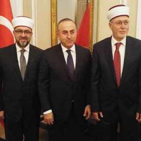 Αλωνίζει ο ψευτομουφτής της Ξάνθης: Φωτογραφήθηκε με τον τούρκο πρωθυπουργό στηνΆγκυρα!