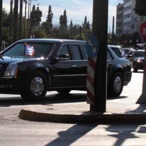 Δεύτερη ημέρα «κόλαση» στους δρόμους της Αθήνας λόγω της επίσκεψηςΟμπάμα