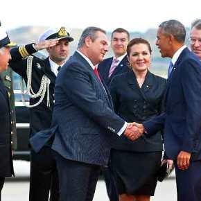 Καμμένος: Τι μου είπε ο Ομπάμα στοαεροδρόμιο