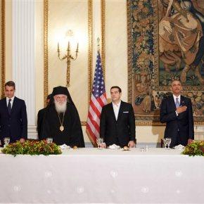 Εφτά τραγούδια θα σου πω, Mr President -Ολα όσα συνέβησαν στο δείπνο στο Προεδρικό Μέγαρο προς τιμή του ΜπαράκΟμπάμα