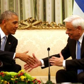 Ομπάμα: Επικός διάλογος με Παυλόπουλο! «Εδώμένετε»;