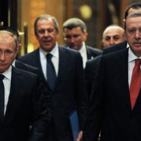 Νέα τηλεφωνική επικοινωνία μεταξύ Πούτιν καιΕρντογάν