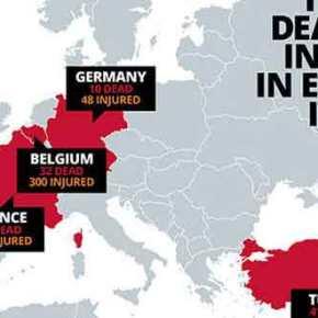 Τρομοκρατικό χτύπημα στην Ευρώπη σύντομα φοβάται ο επικεφαλής τηςEuropol!