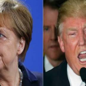 «ΑΡΧΙΣΑΝ ΤΑ ΟΡΓΑΝΑ»Πόλεμος Ν.Τραμπ κατά Α.Μέρκελ: Αθλια δήλωση της Γερμανίδας προκαλεί την πρώτη κρίση – Τι της απάντησαν οι άνθρωποι του νέουπροέδρου
