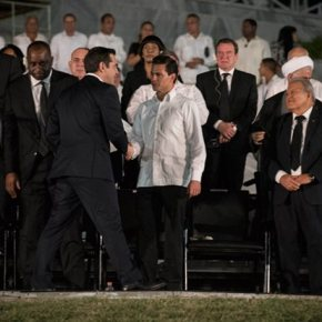 Συναντήσεις Τσίπρα με Κάστρο, Ορτέγκα, Κορέα και Μοράλες στηνΑβάνα