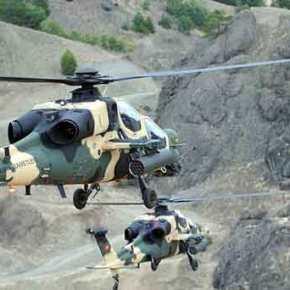 Εξοπλίζεται με τον Αντιαρματικό μεγάλης εμβέλειας «UMTAS»…To Τουρκικό ελικόπτερο «Τ-129ΑΤΑΚ»