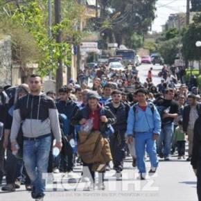 Χίος: Εκτός ελέγχου η κατάσταση στον προσφυγικό καταυλισμό – Επιθέσεις σε αστυνομικούς (φωτό, βίντεοΦΟΒΟΙ ΓΙΑ ΕΠΕΚΤΑΣΗ ΤΩΝΕΠΕΙΣΟΔΙΩΝ)