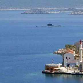 Ενα υποβρύχιο Type 214 και μια πυραυλάκατο έστειλε το ΠΝ στο Καστελόριζο ως «προειδοποίηση» στηνΤουρκία