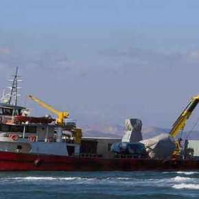 Συνεχίζει να είναι προσαραγμένο στην Κω το τουρκικό φορτηγό πλοίο – Σε επιφυλακή για κρίση τύπου «Ίμια» (βίντεο,εικόνες)