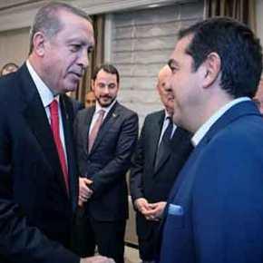 «Ψήνεται» η συνάντησηΤσίπρα-Ερντογάν