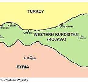 Και εγεννήθη η Δημοκρατική Ομοσπονδία Βόρειας Συρίας – ΔυτικούΚουρδιστάν