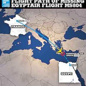 Έκρηξη προκάλεσε τη συντριβή του αεροσκάφους της Egyptair στηΜεσόγειο!