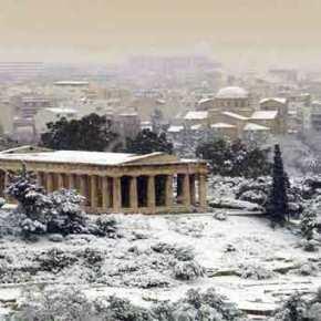 Χιόνια μέχρι την Πρωτοχρονιά σε όλη την Ελλάδα – «Ιστορικός χιονιάς» λένε οιμετεωρολόγοι