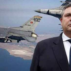 Ισχυρός και Ακλόνητος ο Καμμένος! Σερβίρει…. στις τουρκικές προκλήσεις «των αθανάτων τοκρασί»