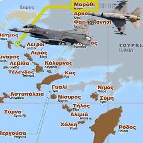 Αερομαχίες Ελληνικών και τουρκικών F-16 με το Σινούκ που μεταφέρει τον Π.Καμμένο να είναι στον αέρα!(εικόνες)