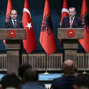 """""""Τα φιλαράκια τα καλά""""! Τουρκία και Αλβανία επιβεβαίωσαν τον """"άξονα""""συνεργασίας"""