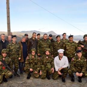 Ο Καμμένος διανυκτερεύει σε φυλάκιο στα σύνορα με Αλβανία – Μήνυμα σεΡάμα