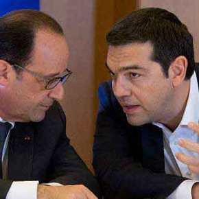 Παρέμβαση Φ.Ολάντ υπέρ της Ελλάδας: «Δεν μπορεί να δώσει άλλα – Πρέπει να σώσουμε και την Ελλάδα και την ΕΕ»(upd)
