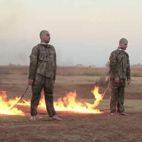 ΦΡΙΚΗ ΑΠΟ ΤΟΥΣ ΠΡΩΗΝ ΣΥΜΜΑΧΟΥΣ ΤΟΥΣ ΤΗΣ ISIS -Σκληρή εκδίκηση: Καίνε τους Τούρκους εισβολείς ζωντανούς στηΣυρία!