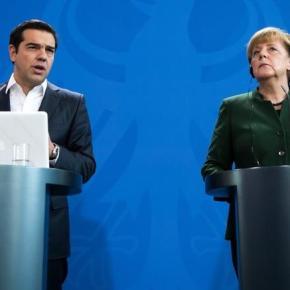 Με μια «βαλίτσα» χωρίς δώρα, γεμάτη διλήμματα από το Βερολίνο -Το παρασκήνιο της συνάντησης Τσίπρα- Μέρκελ. Ο Πρωθυπουργός γυρίζει με άδεια χέρια από το Βερολίνο. Οι διάλογοι Τσίπρα Μέρκελ και το παρασκήνιο τηςσυνάντησης.