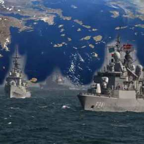 Aναπτύσσεται ΝΑΤΟϊκός Στόλος στο Αιγαίο: Απαγόρευση διάπλου ρωσικών πολεμικών πλοίων!(Βίντεο)