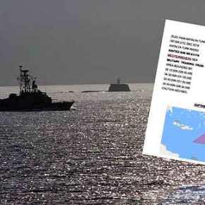 """Ο τουρκικός """"βομβαρδισμός"""" NAVTEX συνεχίζεται! Τι μαςυπενθυμίζουν"""