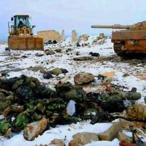 Εικόνες σοκ από την Αλ-Μπαμπ: Τουρκικά Leopard-2A4 στα χέρια της ISIS – Νεκροί Τούρκοι στρατιώτες κείτονται στοχιόνι