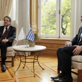 Κοινές δράσεις σε διεθνές επίπεδο αποφάσισαν Τσίπρας –Αναστασιάδης